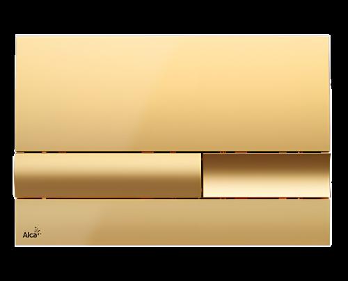 Ovládání WC modulu Alca M1745- zlatá
