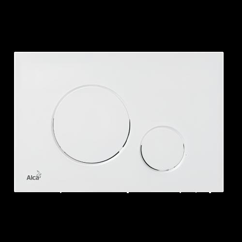 Ovládací WC modul M676 | bílá mat