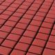Mozaika Matt Red | 18x18mm | mat
