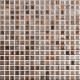 Mozaika Fantasy 27 Brown & Grey & Orange   18x18mm   lesk
