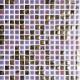 Mozaika Luxor 45 Violet | 18x18mm | lesk