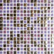 Mozaika Luxor 45 Violet   18x18mm   lesk