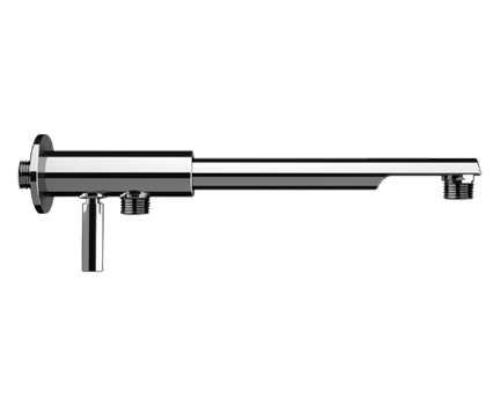 Sprchové rameno N 348 ND | 200 mm | chrom lesk