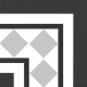 Dlažba Neocim Classic Canto Optique Titane| 200x200 | mat
