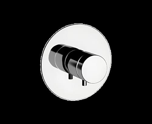 NT30 | Podomítkový modul MINIMAL THERMO | pákový jednocestný | termostatický | chrom lesk