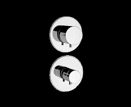 NT95 C | Podomítkový modul MINIMAL THERMO | pákový pěticestný | termostatický | chrom lesk