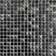 Mozaika Oxide 99 Black & Silver | 18x18mm | lesk
