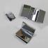 X201 | Sprchová zástěna - rohová | SCANDIC | 900 x 900 | chrom | pravá
