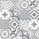 Dlažba Neocim Plus Patchwork Gris/Plomb | 200x200 | dekor