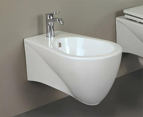 Bidet PEARL 360 x 540 x 300 | závěsný | bílý