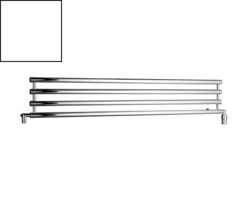 Radiátor Rosendal | 1500x266 mm | bílá lesk