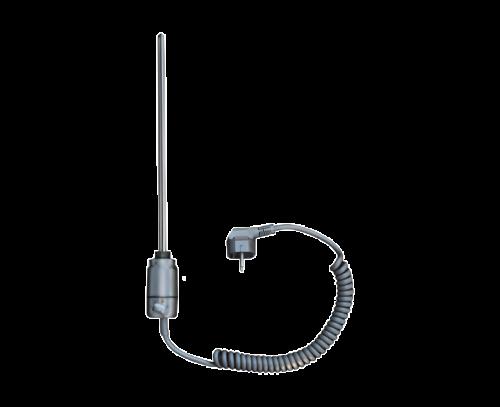 Topná tyč ET metalická stříbrná 600 W