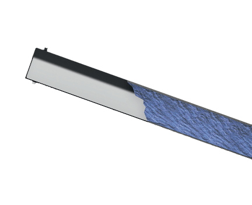 Okrasná lišta Plate rohová
