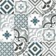Dlažba Neocim Plus Patchwork Blue/Gris   200x200   dekor