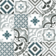 Dlažba Neocim Plus Patchwork Blue/Gris | 200x200 | dekor