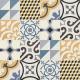 Dlažba Neocim Plus Patchwork Bleu/Caramel | 200x200 | dekor