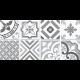 Dlažba Neocim Plus Patchwork Gris/Plomb   200x200   dekor