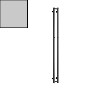Radiátor Rosendal | 115x1500 mm | chrom lesk