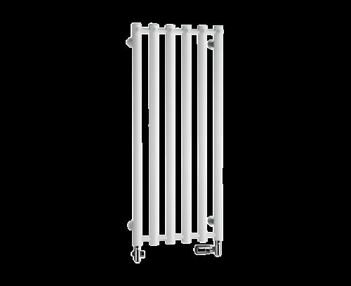 Radiátor Rosendal | chrom | 420x950 mm | kartáčovaná nerez
