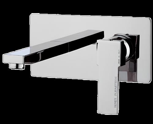 Q 15 | Umyvadlová baterie Qubika | podomítková | chrom lesk