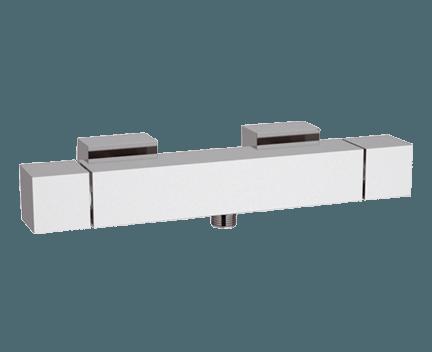 QT 31 | Sprchová baterie QUBIKA THERMO | nástěnná termostatická | chrom lesk