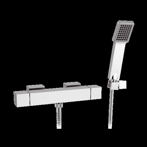 QT 39 | Sprchová baterie QUBIKA THERMO | Termostatické | chrom lesk