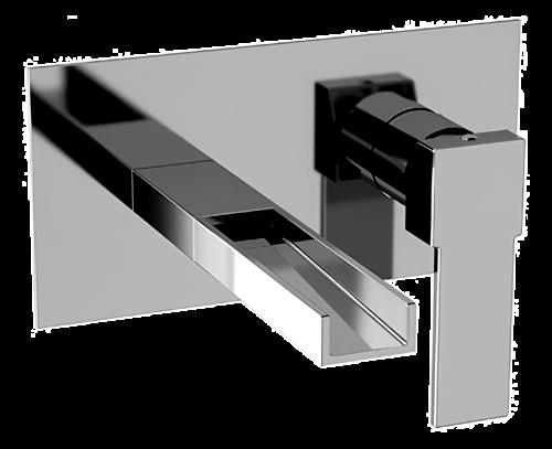 QC15 | Umyvadlová baterie QUBIKA | podomítková | černá mat