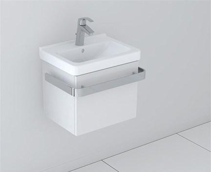 LaVilla bílá set 45cm s umyvadlem Cubito | 450 x 340 | bílá