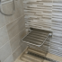 Sedátko nerezové do sprchy I   389 x 470 x 90