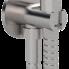 Komplet ke kolekci X STYLE INOX | redukce + ruční sprška + hadice + úchytka na ruční spršku | nerez