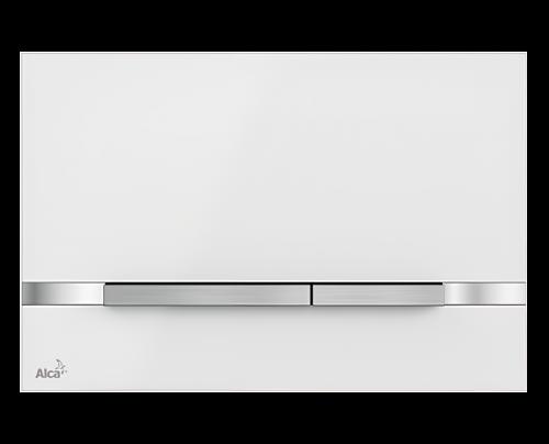 Ovládání WC modulu Flat Stripe   bílá