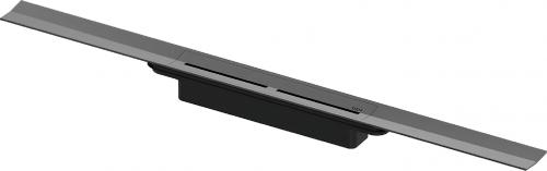 TECEdrainprofile    sprchový profil   800mm   Brushed Black Chrome / kartáčovaný černý chrom
