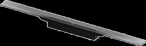 TECEdrainprofile |  sprchový profil | 800mm | Polished Black Chrome / lesklý černý chrom