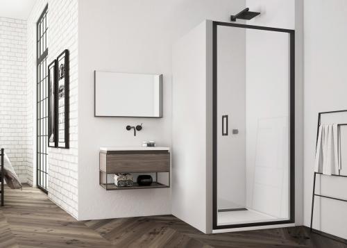 TLSP | Jednokřídlé dveře - otvírání ven i dovnitř | TOP-LINE | 900 x 2000 | černá