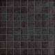 Mozaika Texture Black   38x38mm   mat