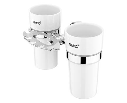 Hygienický set Unix (držák kartáčků a pohárků)