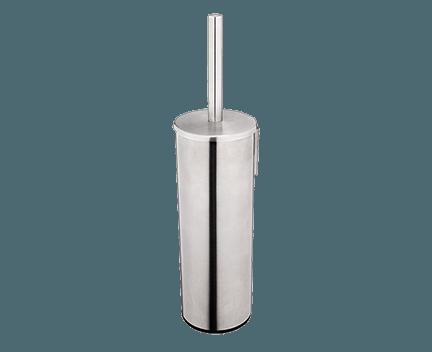 WC kartáč Unix celokovový masivní (závěsný nebo volně stojící)   broušená nerez