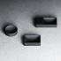 Umyvadlo VALE 280 x 190 x 70 | na desku nebo závěsné | černé
