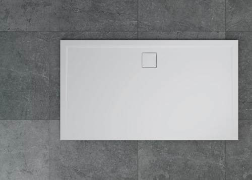 LIVADA - W20AL obdélníková vanička | bílá | 800x1600