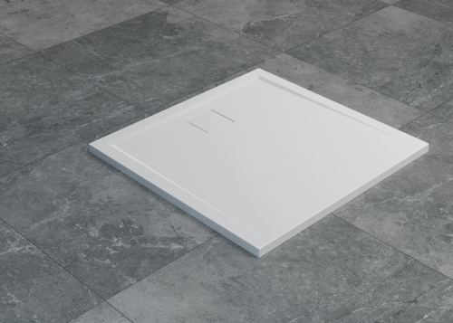 LIVADA - W20Q čtvercová vanička   bílá   800x800