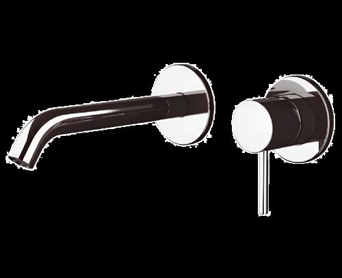Umyvadlová baterie X STYLE X 15 P | podomítková | mosaz stařená lakovaná s dekorem