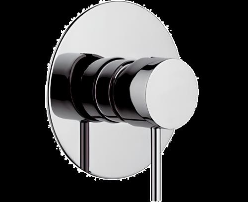 Podomítkový modul X STYLE | pákový jednocestný | chrom lesk