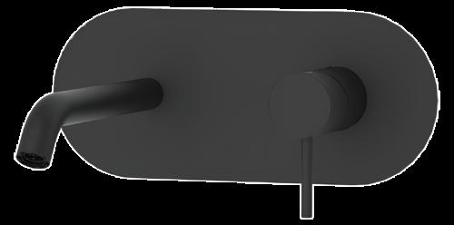 Umyvadlová baterie X STYLE   podomítková páková   jednoprvková   černá mat