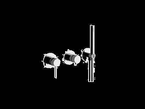 Vanová baterie X STYLE | podomítková | Pákové | černá mat