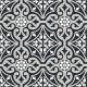 Dlažba Element Arabesque | 205x205 | dekor