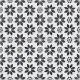 Dlažba Re-style Lilium   205x205   dekor