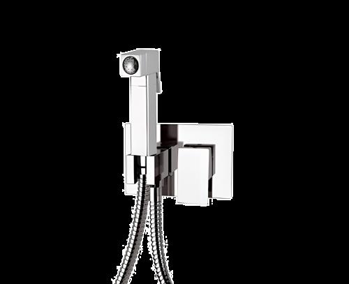 Z 60 | Komplet set systému bidetové spršky Qubika III | chrom lesk