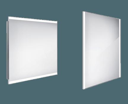 Koupelnové podsvícené LED zrcadlo ZP 12003 800 x 700 mm
