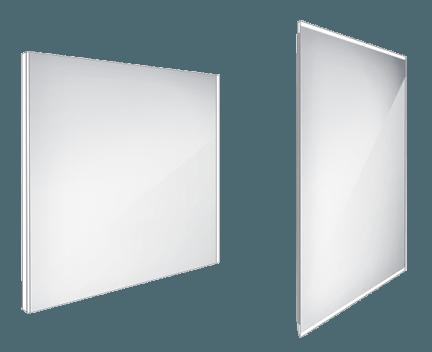 Koupelnové podsvícené LED zrcadlo ZP 9003 800 x 700 mm