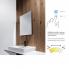 Koupelnové podsvícené LED zrcadlo ZPC   600 x 800 mm   senzor   černá
